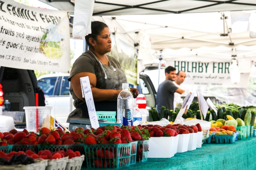 Old Town Newhall Farmers Market Gives Locals A Weekly Spot For Fresh Produce