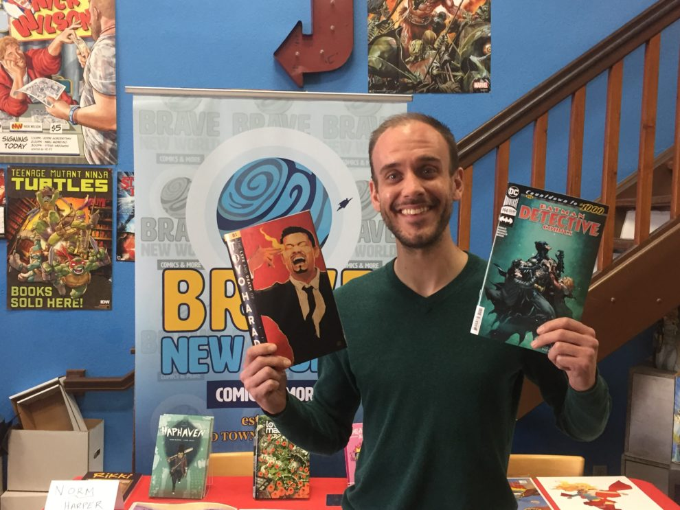 Brave New World Comics To Celebrate 1000 Issues Of Batman With Artist Signing